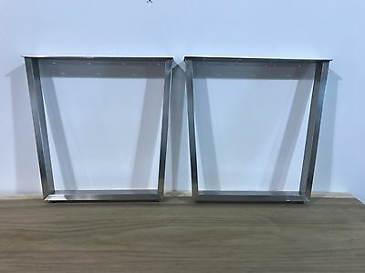 Dinning Table Legs Stainless Steel Brushed