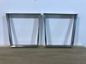 Furniture Legs Stainless Steel stainless steel table legs | ebay