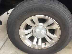 4x Tires for sale 235/70R/ 16 Firestone