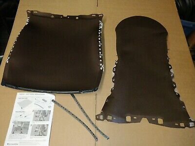 New Herman Miller Embody Chair Fabric Back And Seat New Brown Rhythm