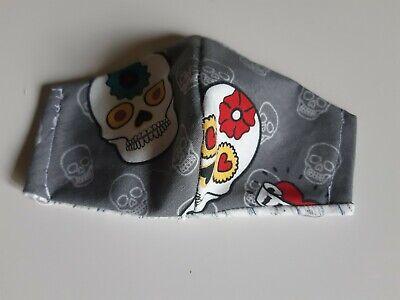 Mundschutz Totenkopf,Skull, selbstgenäht sofort kaufen