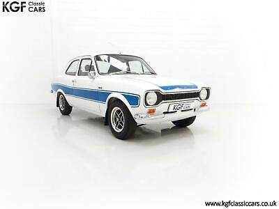 A First Month Production AVO National Day Winning Mk1 Ford Escort RS2000