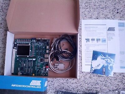 Atmel Microchip Avr32 Ap7 Series Stk1000 Development Board Kit Atstk1000 -used