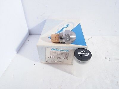 Monarch Oil Burner Nozzle .65 X 90 Ar Special Solid Cone New Nos Fuel Furnace