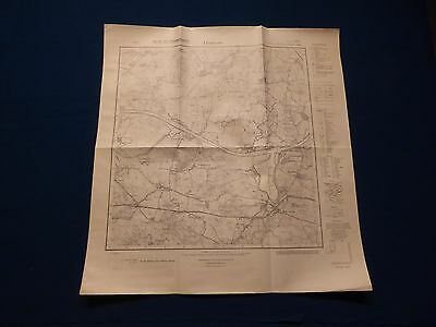 Landkarte Meßtischblatt 1625 Flemhude, Kaiser Wilhelm Kanal, Achterwehr, um 1945