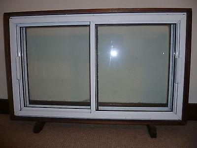Travelling salesman window case upvc double glazing display prop 1980s