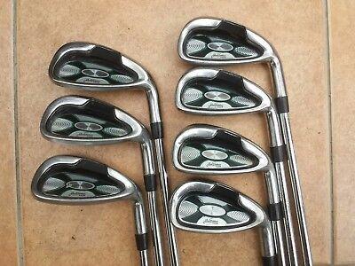 Refurbed Jack Nicklaus undercut TOUR irons. 5-S. Reg steel shaft. PGA Pro seller