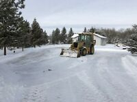 Rural driveway clearing/snow removal