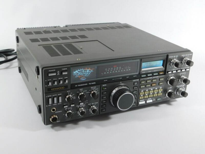 Kenwood TS-940S Ham Radio Transceiver + Box (collector quality, see description)