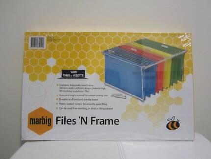 Marbig File & Frame - brand new!