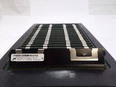 Used, LOT 22 MICRON MT36JSZF51272PZ 4GB 2Rx4 DDR3 PC3-8500R 1067MHZ ECC REG MEMORY RAM for sale  Shipping to India