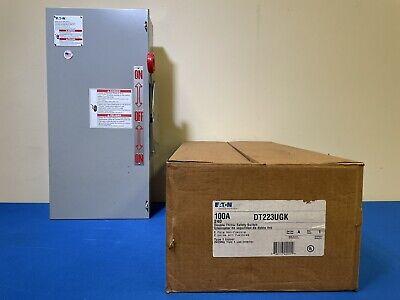 Eaton 100a Double Throw Safety Switch Manual 240v 2 Pole Nema 1 Enclosure
