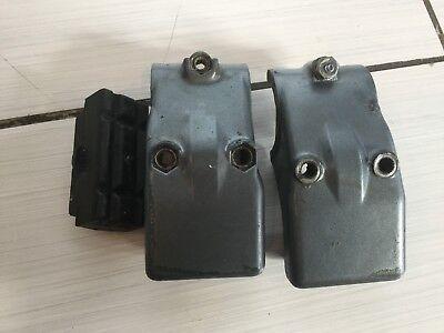 1986 Yamaha 9.9HP LOWER MOUNT RUBBER HOUSING 6G8-44551-01-EK 6G8-44552-01-EK