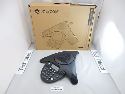 Polycom Soundstation2 Full Duplex Conference Phone 2201-16200-601 Non-expandable