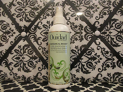 OUIDAD ~ BOTANICAL BOOST CURL ENERGIZING & REFRESHING SPRAY ~ 8.5 OZ UNBOXED