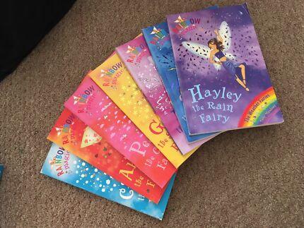 Rainbow magic books, box set - weather fairies