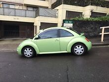 2000 Volkswagen Beetle Sunshine,  automatic green Neutral Bay North Sydney Area Preview
