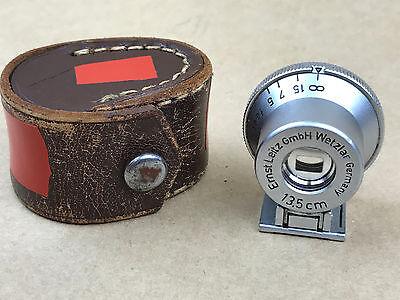 """Leica Leitz 13.5cm Viewfinder SHOOC brightline finder """" Spiegalsucher """" Wetzlar"""