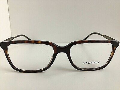 New Versace Mod. 0932 801 Tortoise 55mm Men's Eyeglasses Frame Italy #9