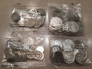 50th Anniversary of Decimal Currency 2016 Set of 4 coins in Bags Southern River Gosnells Area Preview