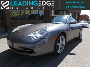 2003 Porsche 911 Carrera 6 Speed Manual, Crested Seats