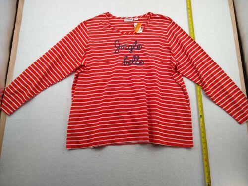 IB Diffusion - 3/4 Sleeve Christmas Shirt - Women - 2X - Red