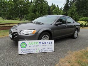 2005 Chrysler Sebring Touring Sedan, Insp, Warr