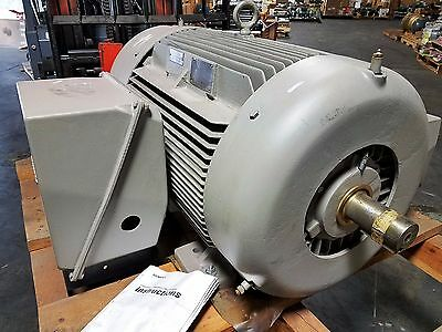New Siemens 200 Hp 3 Phase Motor Equipped W Space Heaters And Thermocouplers