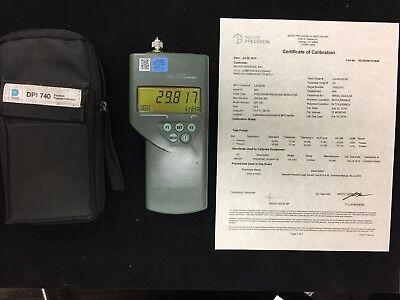 Druck Dpi 740 74002015 Portable Precision Pressure Indicator - Testedcalibrated
