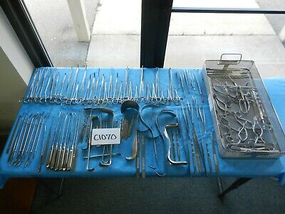 V. Mueller Codman Aesculap Surgical Obgyn Instrument Set W Tray