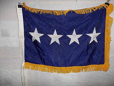 flag698 Vietnam USAF General's Car 4 Star flag Air Force