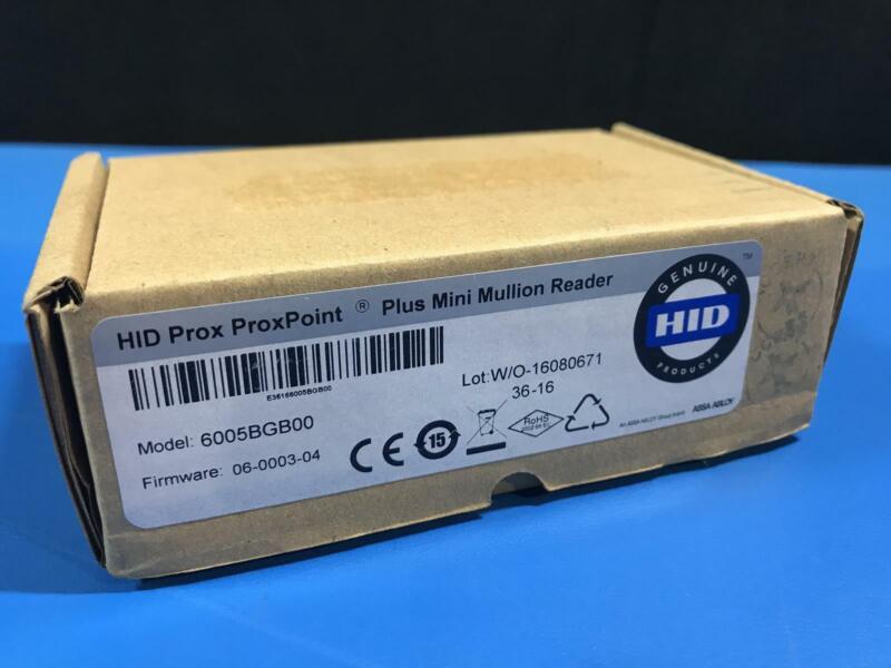 HID ProxPoint Plus Plus Mini Mullion Reader 6005BGB00