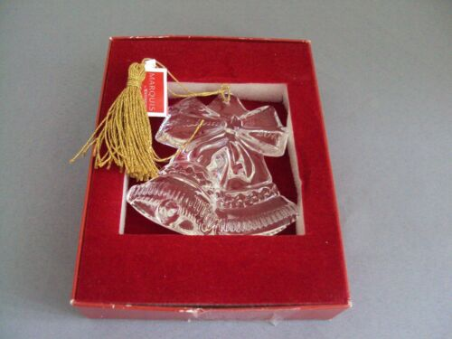 Waterford Crystal Our First Christmas 2014 Ornament New In Box