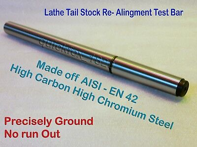 Mt1 Lathe Alignment Test Bar En-42 Alloy Steel Boxfordmyfordcolchssouthbend