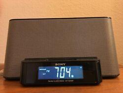 Sony Dream Machine ICF-CS10iP Alarm Clock AM/FM Radio w/ iPod iPhone Dock. Nice!