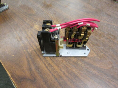 Joslyn Clark Type PMS Contactor 5S 1-Pole 110-120V Coil Used