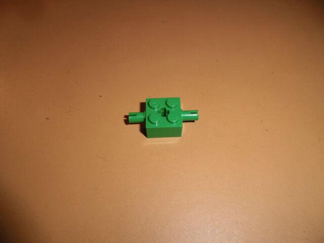 Lego Stein 2x2 Achse Doppelpin 30000 grün eg201