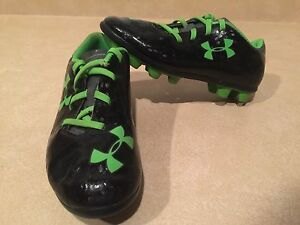 Toddler Under Armour Blur Outdoor Soccer Cleats Size 12
