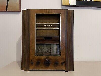 Radio d'epoca a valvole Grammont Mod. 616 del 1936