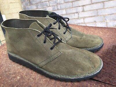 Airwalk Oscilloscope Beastie Boys Desert Boot Green Suede Ripple Shoes Mens 8-11