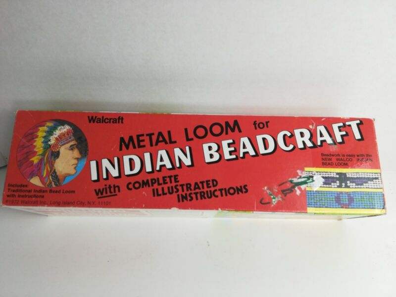 Warcraft Indian Beadcraft  Loom Kit LOOM ONLY Metal Construction
