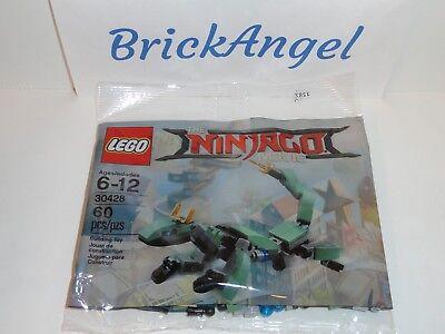 New Lego Ninjago Green Ninja Mech Dragon 30428 Factory Sealed Polybag Set 2017