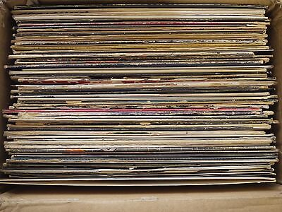 (Lot of 400 Vinyl Records 90's 00's House Techno Ambient Electronic IDM Minimal )