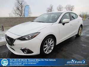 2016 Mazda Mazda3 GT | NAV | SUNROOF | LEATHER | REAR CAM | HTD