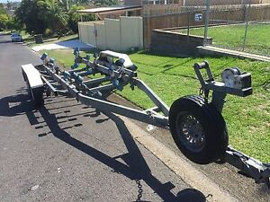 Redco tinka 2900kg rated tandem boat trailer Mansfield Brisbane South East Preview
