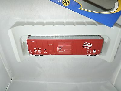 ExactRail Express HO Milwaukee Road MILW 50' PS 5344 CF SD Box Tuscan #50617