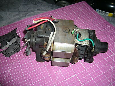 Complete Motor For Parts Or Rebuild Waring Wsb Blender Running Condition.