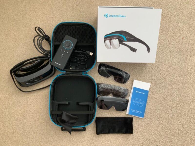 Dream Glass Air Portable & Private AR HMD Headset (Augmented Reality) NIB