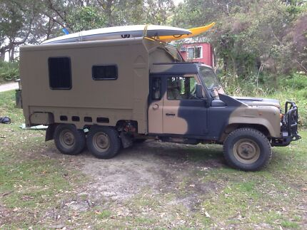 Landrover 110 Perentie campervan Boonah Ipswich South Preview
