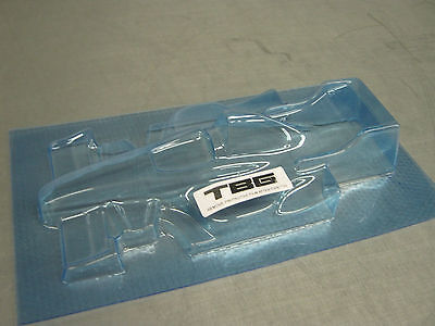 V2 1/24 F1  BODY CLEAR LEXAN VINTAGE FITS FCR , H&R OS-520